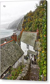 Clovelly Coastline Acrylic Print by RKAB Works