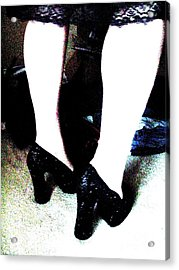 Closet Acrylic Print by Meghann Brunney