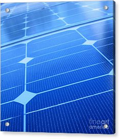 Closeup Of Solar Panels Acrylic Print