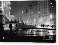 Acrylic Print featuring the photograph Closing At The Met by Sandy Moulder