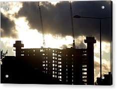 Closing Of The Day Acrylic Print by Jez C Self