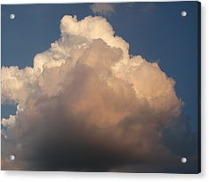 Acrylic Print featuring the photograph Cloud 1 by Douglas Pike
