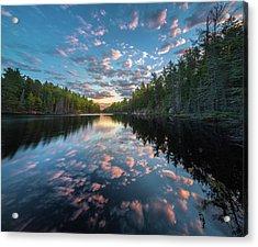 Cloud Atlas // Bwca, Minnesota Acrylic Print