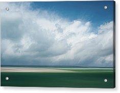 Cloud Bank Over Chatham Acrylic Print