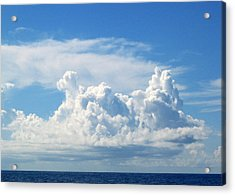 Cloud Acrylic Print by Barbara Marcus
