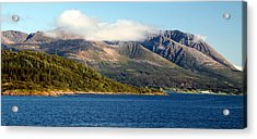 Cloud-capped Mountains Acrylic Print