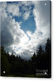 Cloud Cathedral Acrylic Print