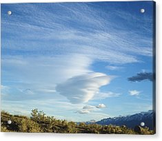 Cloud Channel Acrylic Print by Alpha Pup