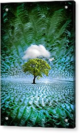 Cloud Cover Recurring Acrylic Print by Mal Bray