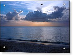 Cloud Creatures At Delnor Wiggins Pass State Park Acrylic Print