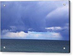 Acrylic Print featuring the photograph Cloud Curtain by Nareeta Martin