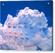 Cloud Dream Acrylic Print by Matthew Lacey