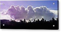 Cloud Express Acrylic Print by Adria Trail