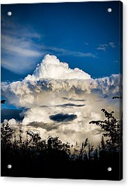 Cloud Formation Acrylic Print by Michel Filion