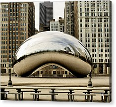 Cloud Gate - 3 Acrylic Print