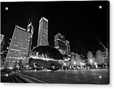 Cloud Gate Acrylic Print