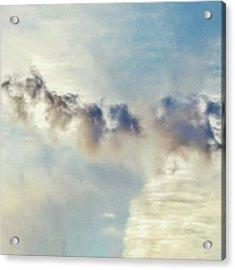Cloud In The Sky #clouds #cloudscape Acrylic Print