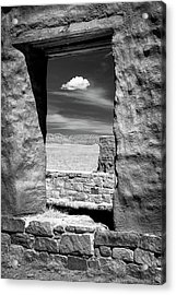 Acrylic Print featuring the photograph Cloud In The Window by James Barber