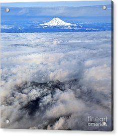 Cloud Mountain Acrylic Print