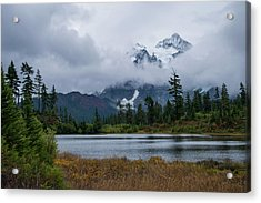 Cloud Mountain Acrylic Print