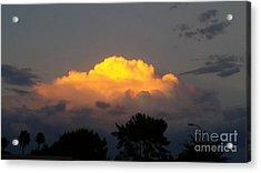Cloud Of Sun Over Chaparral Lake Acrylic Print