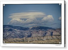 Cloud On Route 6 Acrylic Print