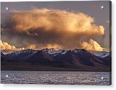 Cloud Over Namtso Acrylic Print