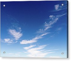 Cloud Sculpting Acrylic Print