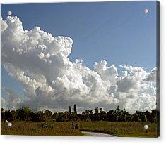 Cloud Show Acrylic Print by Pepsi Freund