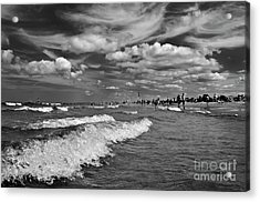 Acrylic Print featuring the photograph Cloud Sound Drama by Silva Wischeropp