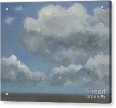 Cloud Study Series Three Acrylic Print