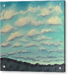 Cloud Study Cropped Image Acrylic Print