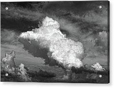 cloud study No.3 Acrylic Print