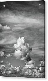 Acrylic Print featuring the photograph Cloud Study ...vertical by Tom Druin