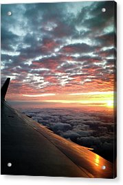 Cloud Sunrise Acrylic Print