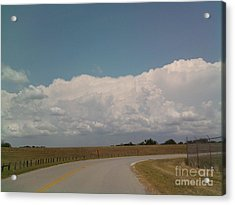 Cloudbank Acrylic Print by Susan Williams