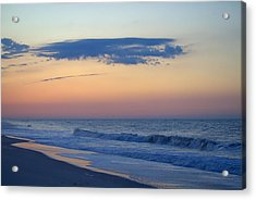 Acrylic Print featuring the photograph Clouded Pre Sunrise by  Newwwman