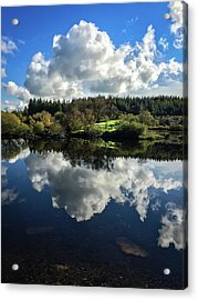 Clouded Visions Acrylic Print