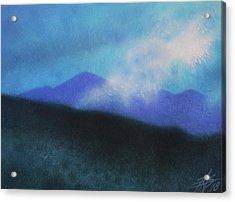 Cloudline IIi Acrylic Print by Robin Street-Morris
