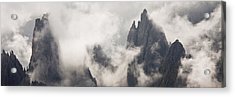 Clouds 1026 Acrylic Print by Marco Missiaja