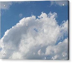 Acrylic Print featuring the photograph Clouds 12 by Douglas Pike