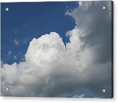 Acrylic Print featuring the photograph Clouds 5 by Douglas Pike