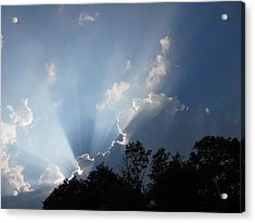 Acrylic Print featuring the photograph Clouds 7 by Douglas Pike