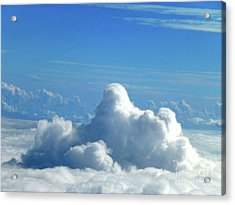 Acrylic Print featuring the photograph Clouds And Sky M3 by Francesca Mackenney