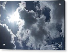 Acrylic Print featuring the photograph Clouds And Sunlight by Megan Dirsa-DuBois