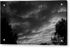 Clouds Before The Storm Acrylic Print by Marsha Heiken