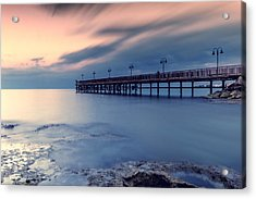 Clouds Come Floating Into My Life Acrylic Print by Stelios Kleanthous