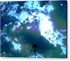Clouds Acrylic Print by Douglas Kriezel
