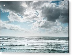 Acrylic Print featuring the photograph Clouds Dream Of Being Oceans by Alexander Kunz