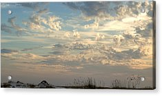 Clouds Gulf Islands National Seashore Florida Acrylic Print